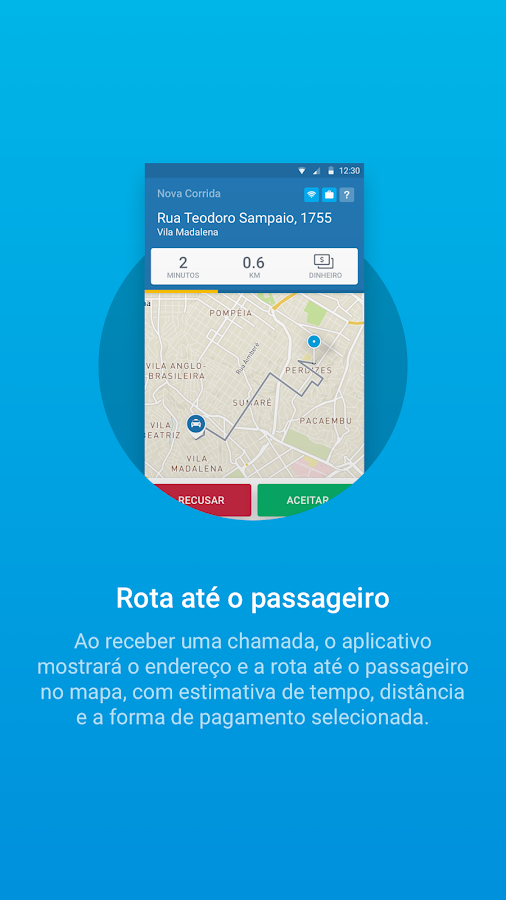 Vá de Táxi Taxista- screenshot