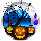 Halloween Live Wallpaper Free with Pumpkins icon
