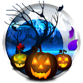 Halloween Live Wallpaper Free with Pumpkins