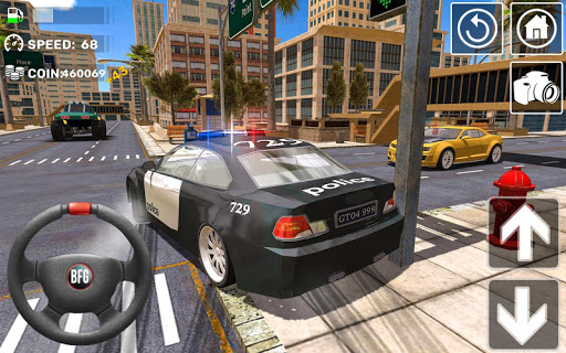 Police Car Stunt Simulation 3D androidiapk screenshots 1