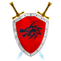 Medieval hero: Strategy game icon