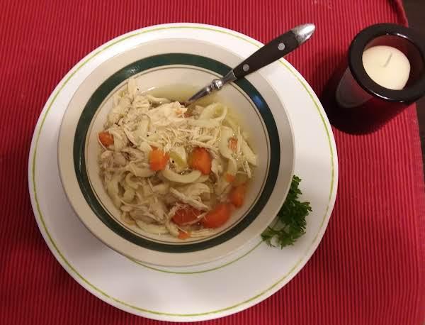 Preston's Grandmother's Chicken Soup Recipe