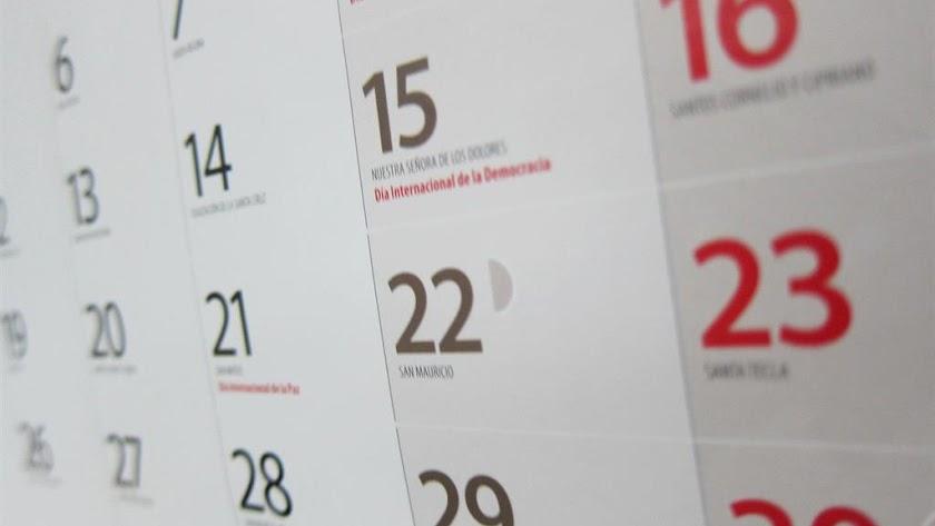 La Junta de Andalucía ya ha anunciado el calendario laboral de 2021.
