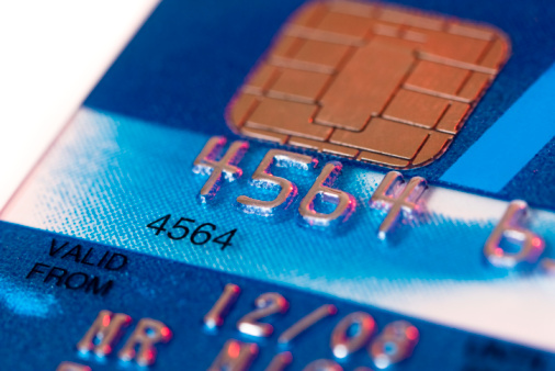 credit card chip XXX Picture: THINKSTOCK