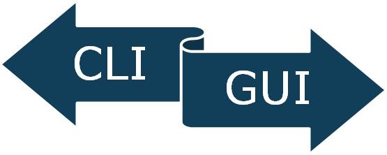 CLI vs GUI