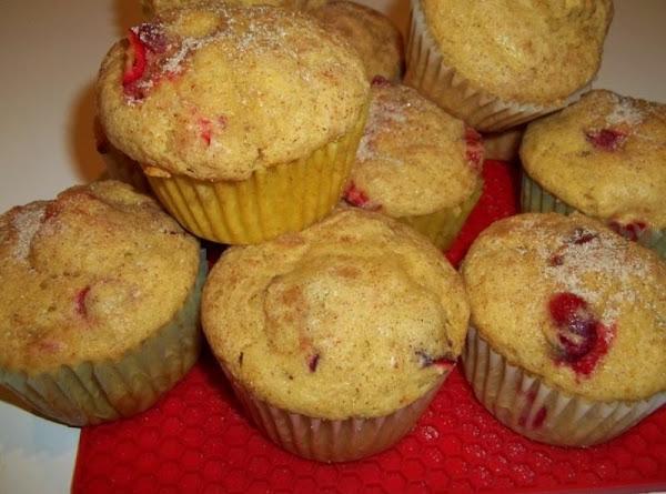 Cranberry Sweet Potato Muffins / Cass Recipe