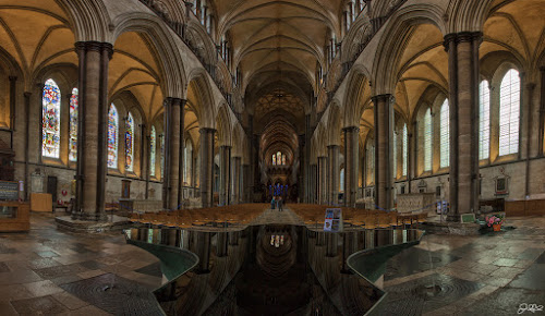 Salisbury Cathedral by Jamie Link - Buildings & Architecture Places of Worship