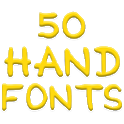 Fonts for FlipFont 50 Hand icon