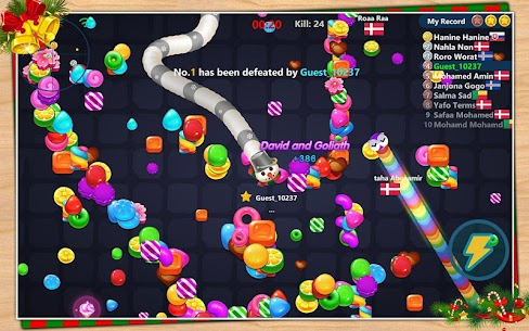 Snake Candy.IO – Multiplayer Snake Slither Game 8