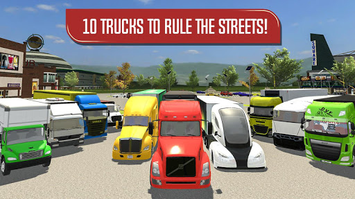 Delivery Truck Driver Simulator  screenshots 10