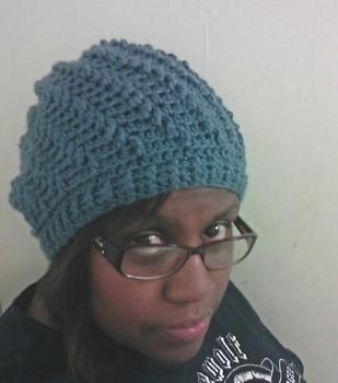 Newport Swirl Slouchy hat