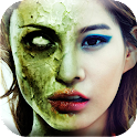 Ghost Face Halloween Makeup icon