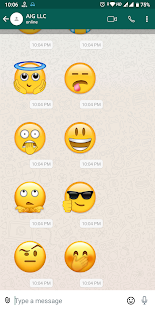 3D Emoji Stickers for WhatsApp Screenshot