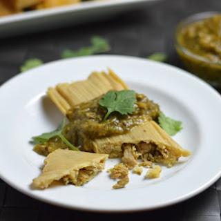 Pork Chile Verde Tamales