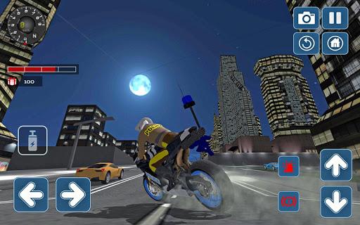 Police Motorbike 3D Simulator 2018 1.0 screenshots 1