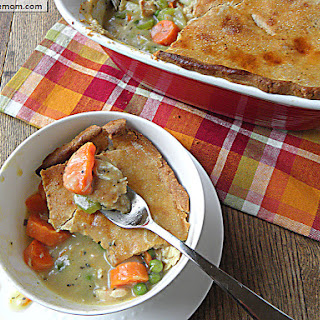 Healthier Turkey Pot Pie
