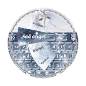 Sad angel GO Keyboard