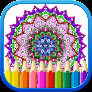 free mandala coloring book - Free Coloring Book Apps
