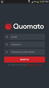 Quomato - Easy Estimates - náhled