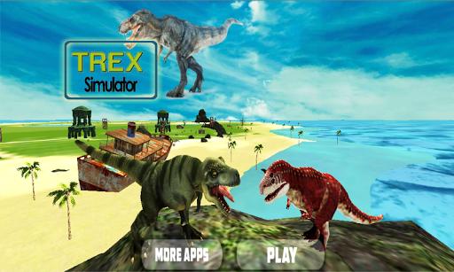 TREXジュラ紀恐竜シムの3D