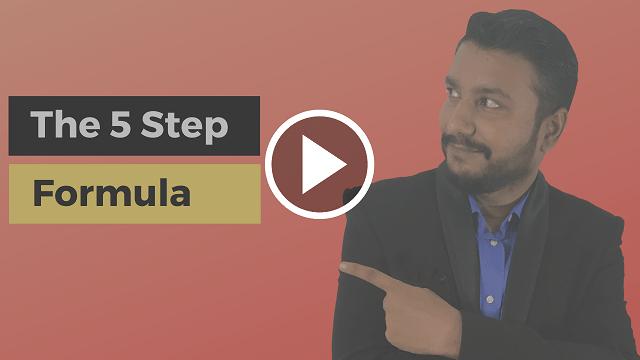 The 5 Step Formula