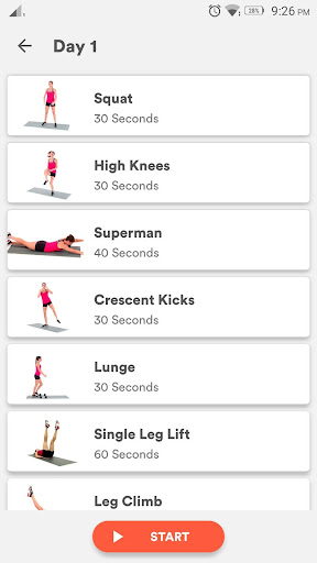 Lose weight at home workout