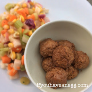 "Pretty Jam Good Spicy Crockpot ""Meat""balls – 6 Weight Watchers Points Plus per Serving"