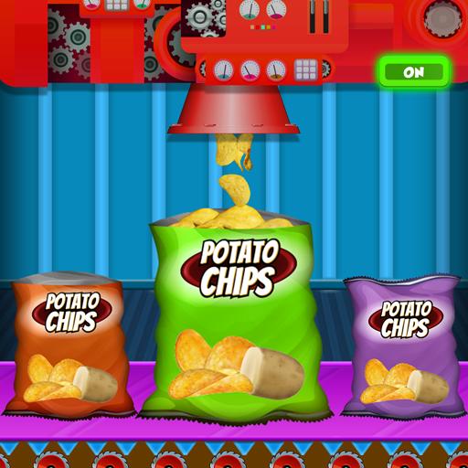 Crispy Potato Chips Maker Factory – Snacks Making (game)