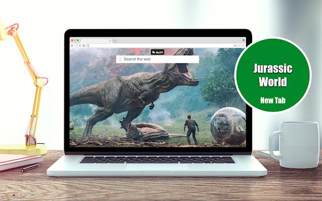 Jurassic World: Fallen Kingdom New Tab