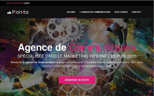 Agence de communication Pionita