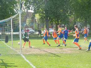 Photo: 23/04/11 v Asfordby Amateurs (Leicestershire Senior League Prem Div) 15-1 - contributed by Mark Farnell