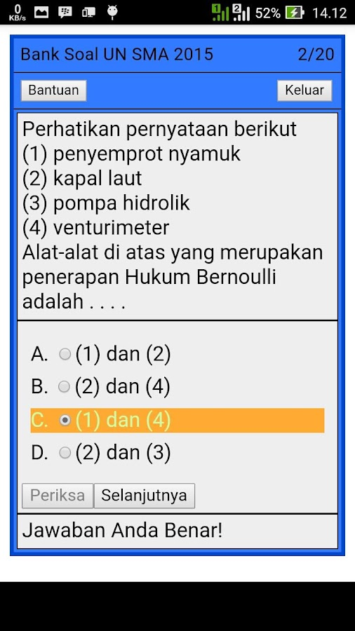 Bank Soal Un Sma Android Apps On Google Play