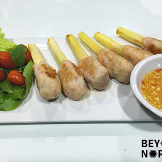 Chạo Tôm (Vietnamese Sugar Cane Shrimp)