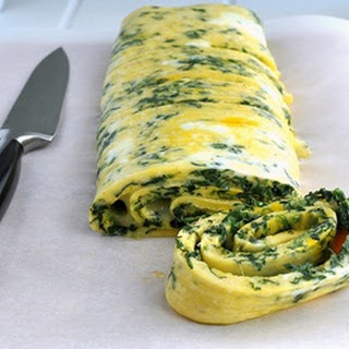 Egg White Spinach Omelet.