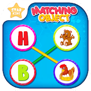 Object Matching: Kids Pair Making Learning Game