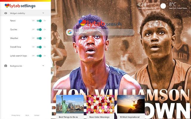 Zion Wiliamson Background