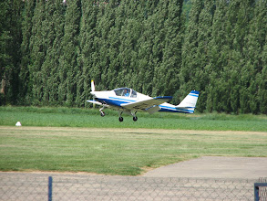 Photo: Skyleader 150 à l'atterro en 26