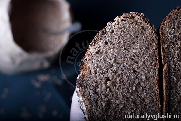 цельнозерновой хлеб на закваске | Блог Naturally в глуши