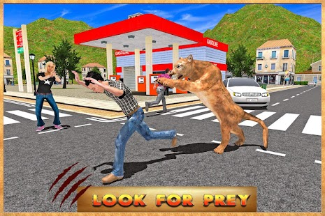 Puma Simulator City Rampage screenshot