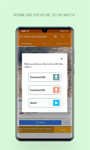 FastVid: Video Downloader for Facebook 4.3.12 Screenshots 3