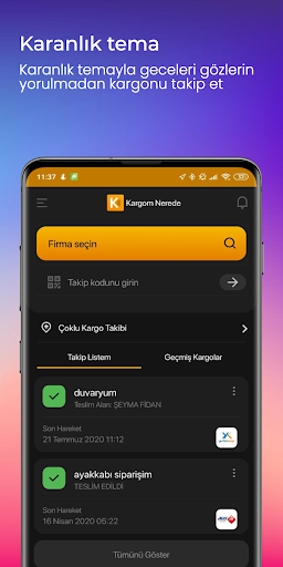 Kargom Nerede - Kargo Takip screenshot 8