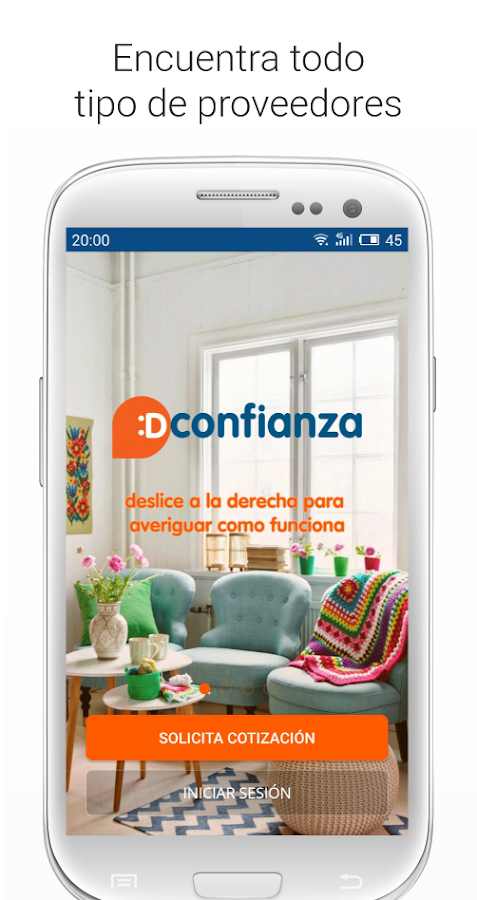 Dconfianza - Usuarios- screenshot
