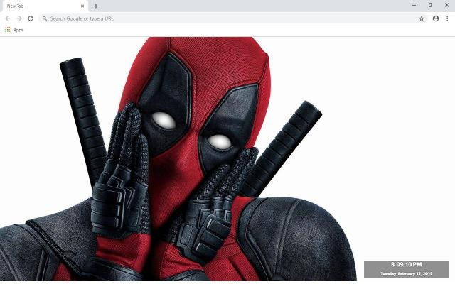 DeadPool Wallpapers and New Tab