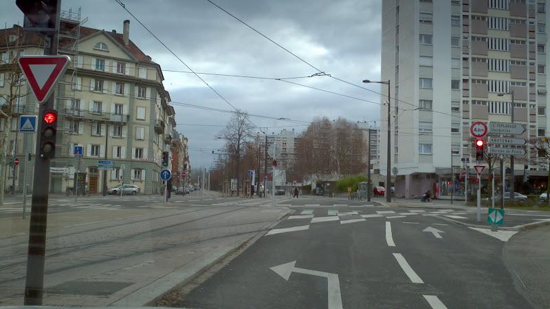 Photo: wild road marking