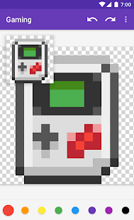 pixel art windows 7