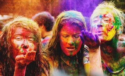 100 Colorful Happy Holi Status for Whatsapp in Hindi holi shayari, holi love shayari