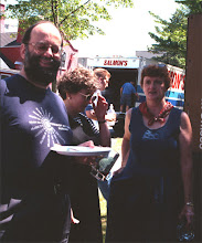 Photo: Jon Nightingale, Angela Runnals, and Susan G. Mair