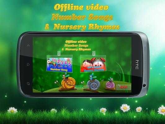 Offline video Number songs - screenshot
