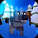 Wolf Craft Survival Simulator icon