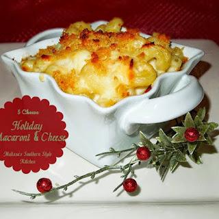 5 Cheese Holiday Macaroni And Cheese.